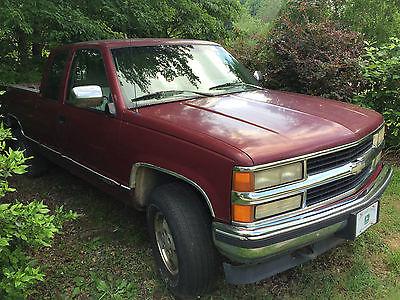 Chevrolet : C/K Pickup 1500 Z71 1994 chevrolet c k 1500 pickup silverado z 71 4 x 4