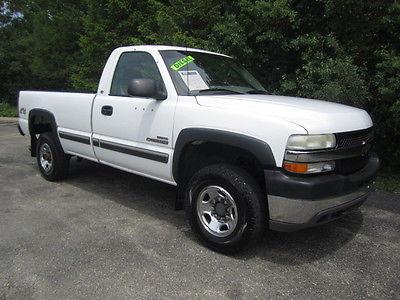 Chevrolet : Silverado 2500 CARFAX CERTIFIED -DURAMAX DIESEL - 4X4 2001 chevrolet silverado 2500 hd ls pickup truck 6.6 l diesel 4 x 4 auto power opts