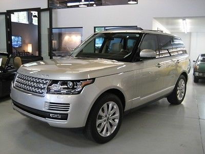 Land Rover : Range Rover 2014 range rover hse full size only 11 k miles