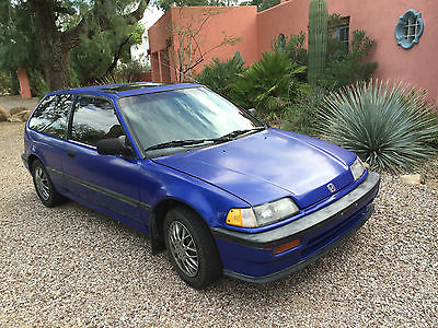 Honda : Civic 1989 honda civic si a rare model in great condition from trusted seller
