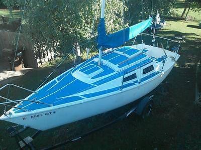 22 ft Laguna Windrose sailboat - 1981