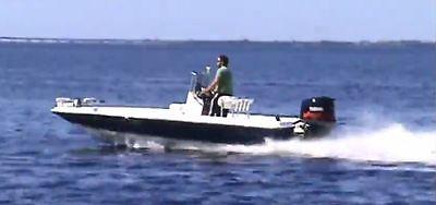 20' ShearWater TE Bay Boat  2005 Yamaha 150 VMAX AmeraTrail  trailer  video