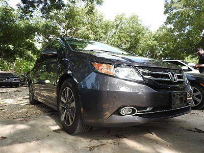 Honda : Odyssey 5dr Touring 5 dr touring honda odyssey touring low miles 4 dr van automatic gasoline alabaste