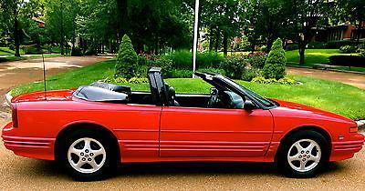 Oldsmobile : Cutlass SL 1995 oldsmobile cutlass convertible final year only 52 k near mint condition