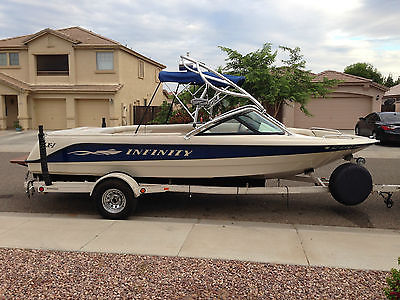 Infinity ZX-1, Wakeboard, Wakesurf, Ski, Open Bow, Performance Boat