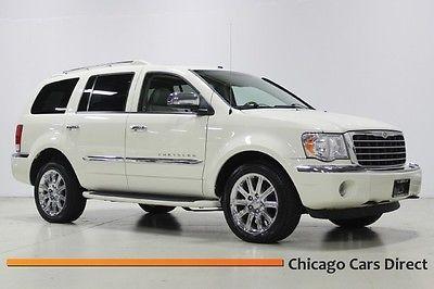 Chrysler : Aspen Limited 5.7L Hemi 09 aspen limited 4 x 4 hemi 5.7 l v 8 28 j rear video gps sunroof white rare clean il