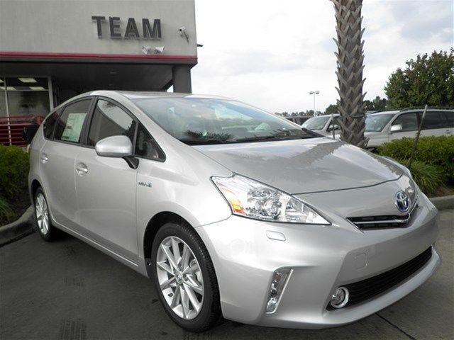 Toyota : Prius V Five Five Hybrid-electric New 1.8L Bluetooth 1.8 liter inline 4 cylinder DOHC engine