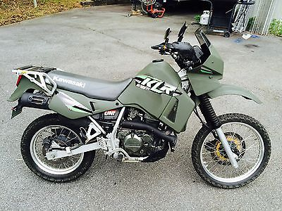 Kawasaki : KLR 2000 klr 650 street and trail low miles 21 k tires brakes chain and sprocket