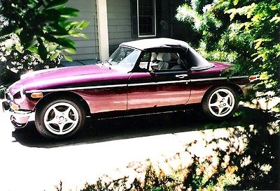 MG : MGB chrome 1974 mgb roadster v 8 conversion