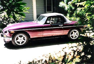 MG : MGB chrome 1974 mgb roadster v 8 conversion