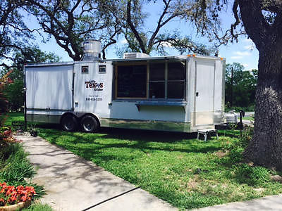 8' x 22' V Nose Concession Trailer Fully Equipped & Ready to Go