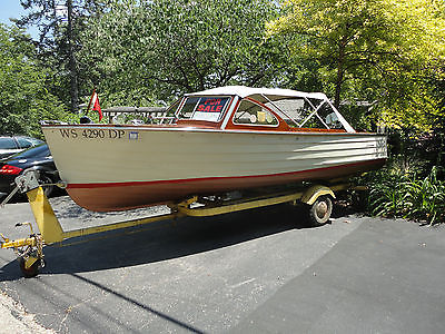 LYMAN - 1959 Runabout with original Mercury Kiekhaefer Mark 78-A outboard