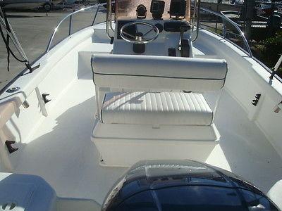 NICE- 2007 KEY LARGO 196 CC BAY FISHING BOAT YAMAHA 150 HP 2-STROKE WEST