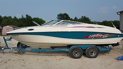 1995 Rinker Captiva 232 Cuddy Cruiser w/ Trailer 454 Chevy Mercruiser
