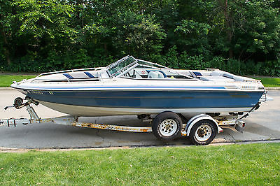 1986 Sea Ray Seville 18 Foot Family Speed Boat Bowrider