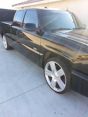Chevrolet : Silverado 1500 SS 2003 chevy silverado ss 6.0 l supercharged 500 hp 56 k miles