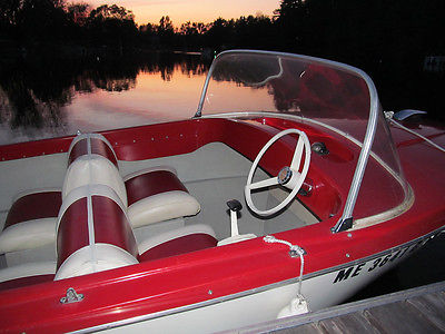 15' 1969 Corson Runabout - Classic Antique Boat with 1967 Mercury 350 Outboard