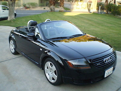 Audi : TT Quattro AWD Roadster Many expensive parts replaced by Audi dealership in 2014 and 2015.