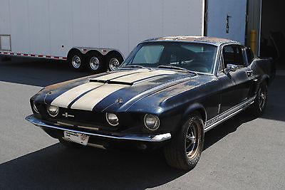 Shelby : GT 500 2 Door Fastback 1967 shelby gt 500 original shelby mustang project needs restoration