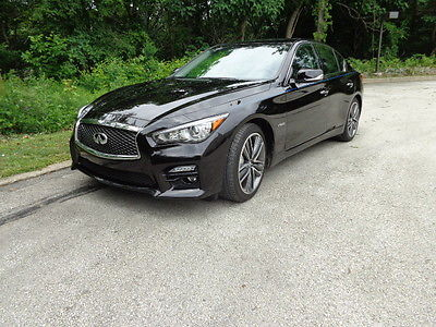 infiniti q50 hybrid sport sedan 4 door cars for sale. Black Bedroom Furniture Sets. Home Design Ideas