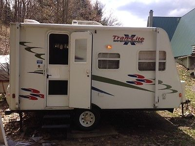 07 R-Vision Trail-Lite Crossover TLX-160BH travel trailer camper CLEAN must see!