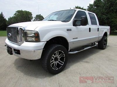 Ford : F-250 Lariat 4X4 2002 f 250 larait 4 x 4 7.3 l powerstroke diesel tx owned well maintained l k