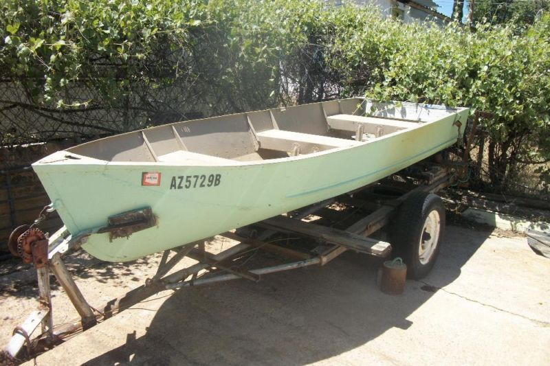 1960 Lonestar Fishing Boat 14ft.