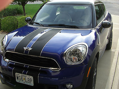 Mini : Cooper S Paceman Paceman, Turbo, AWD, White Leather Heated Seats, Sunroof, Radio: AM/FM Stereo