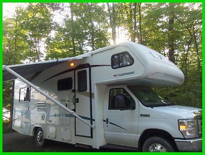 2009 Fleetwood Tioga Ranger 25' Class C V10 Ford Gas Slide Out Furnace NEW YORK