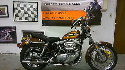 Harley-Davidson : Sportster 1976 amf xlch 1000 completely original classic collector vintage runs title
