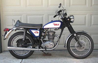 BSA : Starfire 1970 bsa starfire 250 1400 miles runs like new great little classic