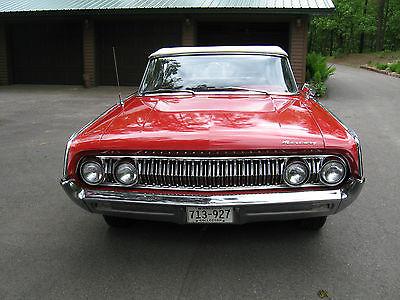 Mercury : Monterey CONVERTIBLE 1964 mercury monterey convertible 390 v 8 auto trans