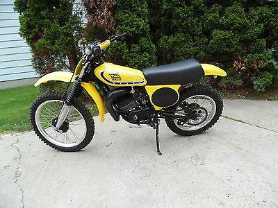 Yamaha : YZ 1976 vintage yamaha yz 125 x yz 125 x dirtbike