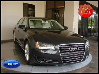 Audi : A8 4dr Sdn 2012 audi a 8 l quattro awd navigation leather sunroof more ave