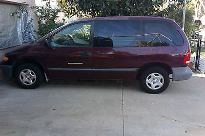 Dodge : Caravan Base Mini Passenger Van 4-Door 2000 dodge caravan 2.4 l