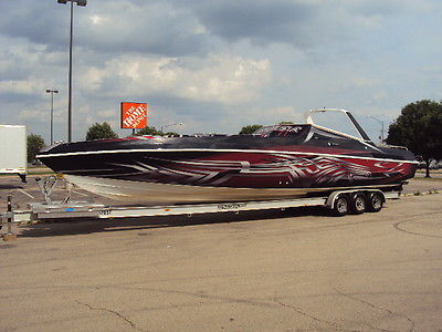 Well Craft Excalibur 42 Ft. 1988 twin 7.4 Merc's Full Wrap and JL audio system