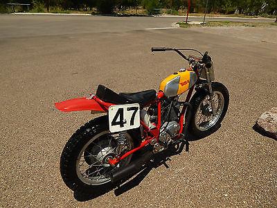 BSA 1969 1970 bsa flat track racer horsepower by stan 500 cc