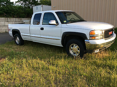 GMC : Sierra 1500 SLE Extended Cab Pickup 3-Door 1999 gmc sierra sle 1500 4 x 4 runs drives 100 needs nothing drive anywhere