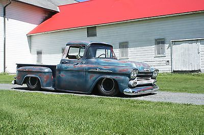 Chevrolet : Other Pickups Apache 1958 chevrolet apache bagged hot rod