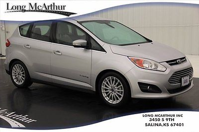 Ford : C-Max SEL Hybrid Hatchback 1 Owner Certified Pre-Owned SEL Heated Leather Ambient Lighting Dual Climate Rear Sensors Sync