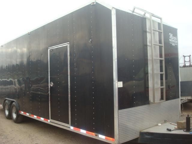 94 MATHEES 8.5X30 LOADED ENCLOSED TRAILER