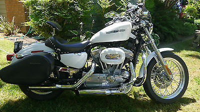 Harley Davidson Sportster 2006 Xl 883 L Saddlebags Screaming Eagle Pipes And