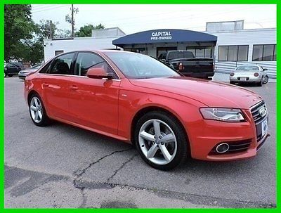 Audi : A4 2.0T Prestige 2012 2.0 t prestige used turbo 2 l i 4 16 v automatic quattro sedan premium moonroof
