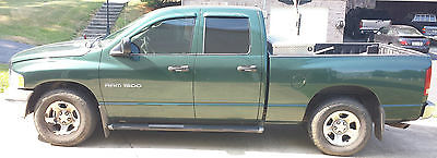 Dodge : Ram 1500 ST Crew Cab Pickup 4-Door Green Crew Cab 4x2, Good Condition. Rust, Pet, and Smoke free vehicle.