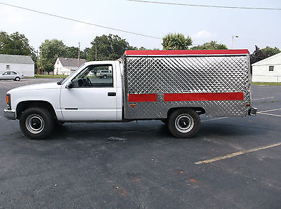 Chevrolet : C/K Pickup 3500 Catering truck 1999 chevrolet 3500 lunch catering truck wag box low miles