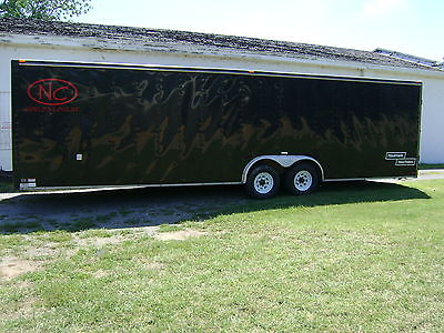 28 ft Haulmark enclosed trailer