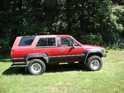 Toyota : 4Runner 1986 toyota 4 runner 4 x 4 auto 22 re efi 80 k on mew engine 200 k on vehicle