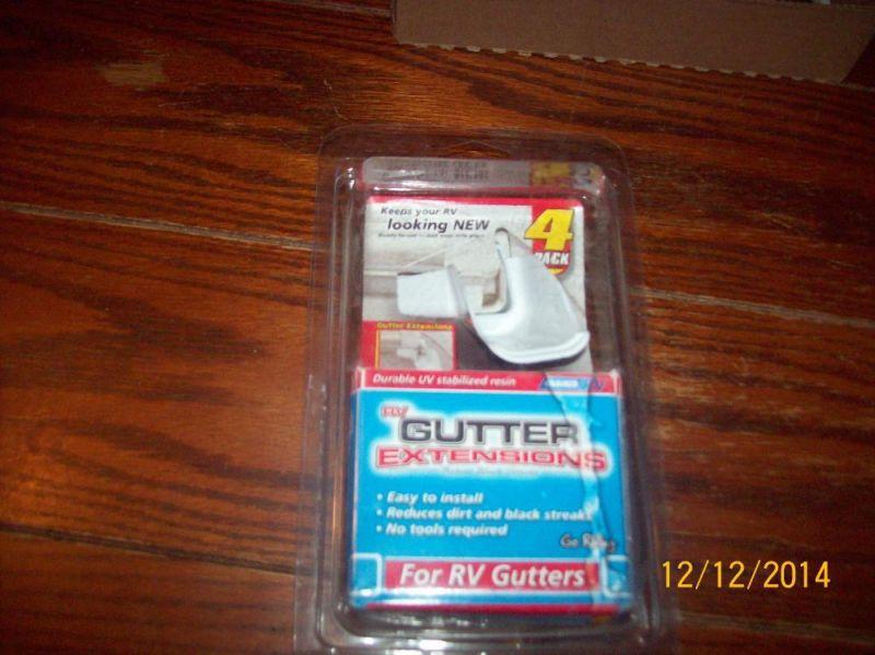 RV Gutter Extensions