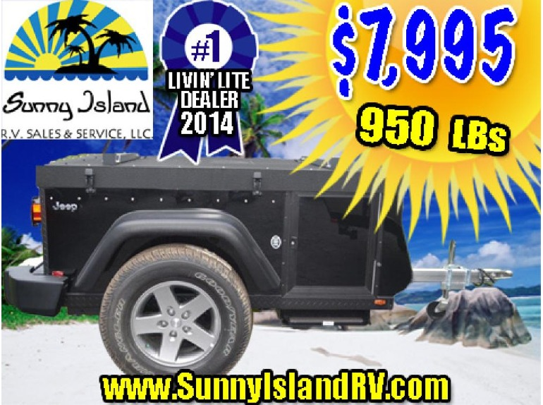2014 Livin Lite Quicksilver JEEP TRAIL EDITION