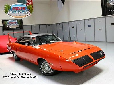 Plymouth : Road Runner Superbird 1970 plymouth road runner superbird automatic winged warrior 440 commando
